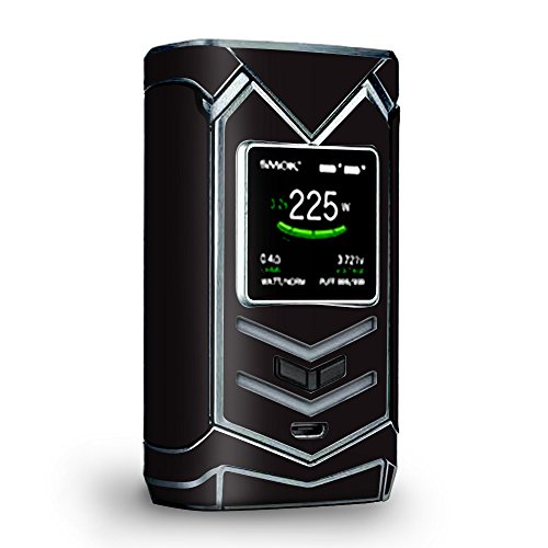 Skin Decal Vinyl Wrap for Smok Veneno 225W TC Vape skins stickers cover/ Solid Black