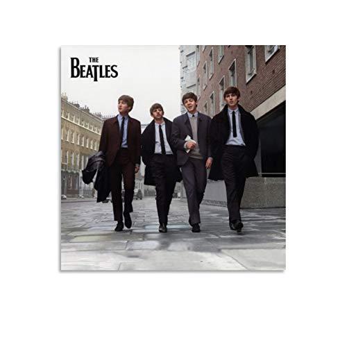 QWKM Póster de Beatles on Air Live at The Bbc Volumen 2, cuadro decorativo para pared, para sala de estar, dormitorio, 60 x 60 cm