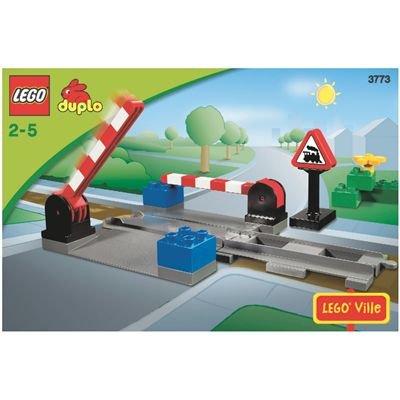 LEGO Duplo Ville 3773 - Eisenbahn Bahnübergang
