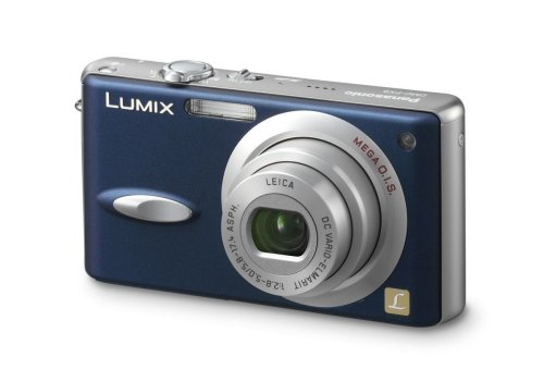 Panasonic Lumix DMC-FX8 EG-A Digitalkamera (5 Megapixel) in Nacht-Blau