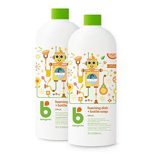 Babyganics Foaming Dish & Bottle Soap 2-Pack Now $9.15 (Was $22)
