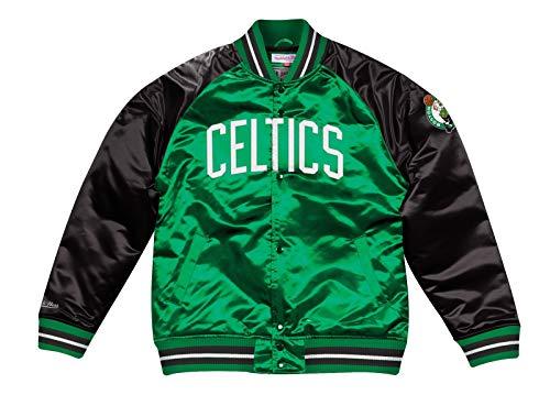 Mitchell & Ness Boston Celtics NBA Tough Season' Retro Satin Jacket Men's