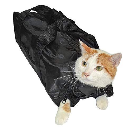 Katzen-Pflegetasche, Katzenbadetasche, Katzenfessel-Beutel, Welpen-Hund-Duschtasche zum Baden, Nageltrimm-Reinigung