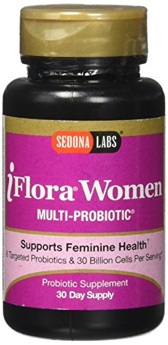 Sedona Labs Iflora Probiotic for Women Capsules, 60 Count