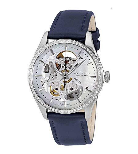 HAMILTON – Reloj para mujer Hamilton Jazzmaster Viewmatic Skeleton Lady Diamants h42405991 correa de piel – H42405991