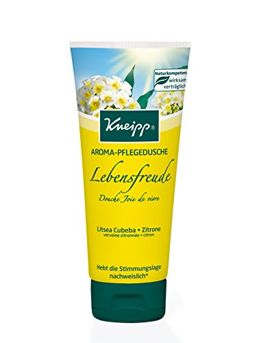 Kneipp Aroma Pflegedusche Lebensfreude mit Litsea Cubeba und Zitrone, 200 ml