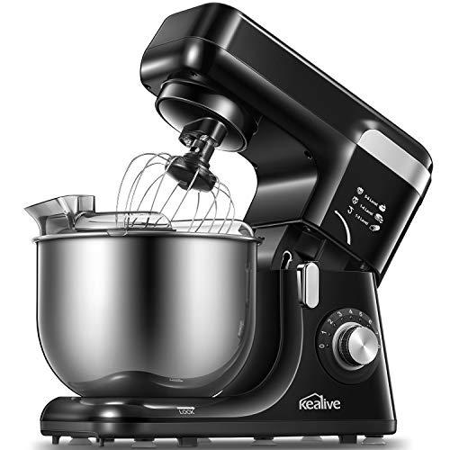 Robot Pâtissier, Kealive Robot Cuisine Multifonctions à 8 Vi