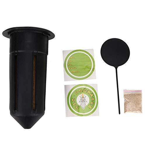 Trampador de termitas efectivo no tóxico Material plástico de trampa de termitas seguro y duradero, para entornos al aire libre
