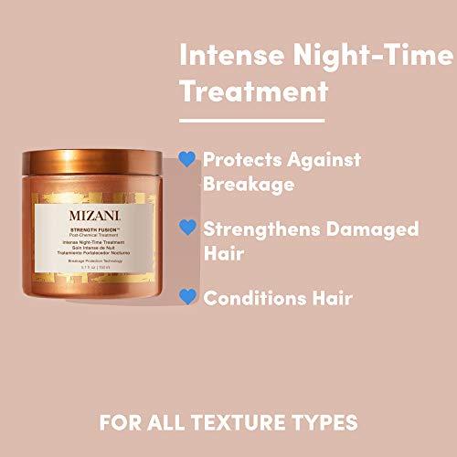 MIZANI Unisex Strength Fusion Intense Night Time Treatment, 5.10 Ounce