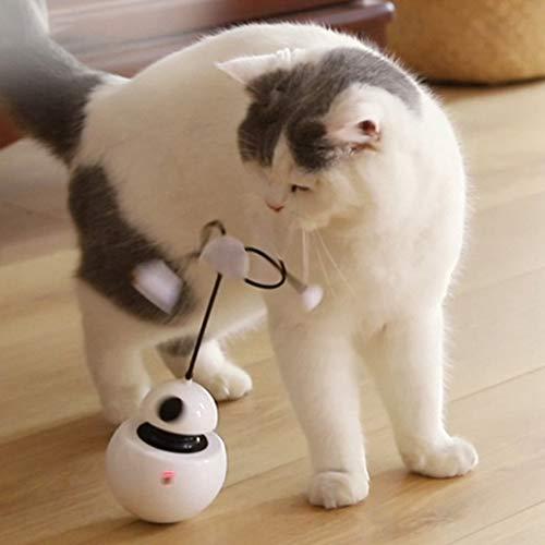 ETbotu ABS Elektro Haustier Spielzeug Flash Tumbler Robot Funny Pet Toy für Katzenhunde