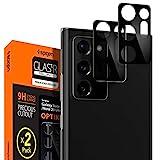 Spigen Glas TR Optik Cámara Lente Protector para Samsung Galaxy Note 20 Ultra Mystic Black - 2 Unidades