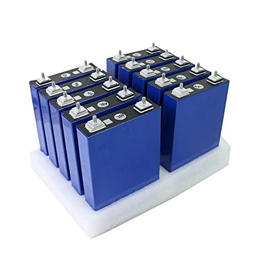 ZOOMLOFT Nuevo 8/16PCS 3.2V 100Ah Lifepo4 Batería Litio Fosfato De Hierro 48V 24V 100AH Paquetes De Batería Solar,8pcs 24v 100ah