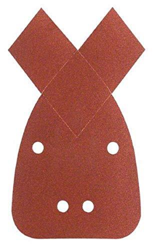 Bosch 2 609 256 A70 - Juego de hojas de lija de 5 piezas para lijadora múltiple