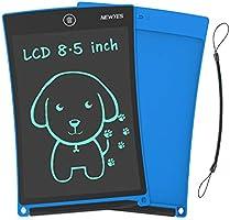 "NEWYES 8,5"" Tableta de Escritura LCD | Tableta gráfica | Tablet para niños | Ideal como Pizarra Digital para Aprender a..."