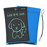 NEWYES 8,5 Tableta de Escritura LCD | Tableta gráfica | Tablet para niños | Ideal como Pizarra Digital para Aprender a Leer, Escribir y para Manualidades | Juguete Educativo (Azul)