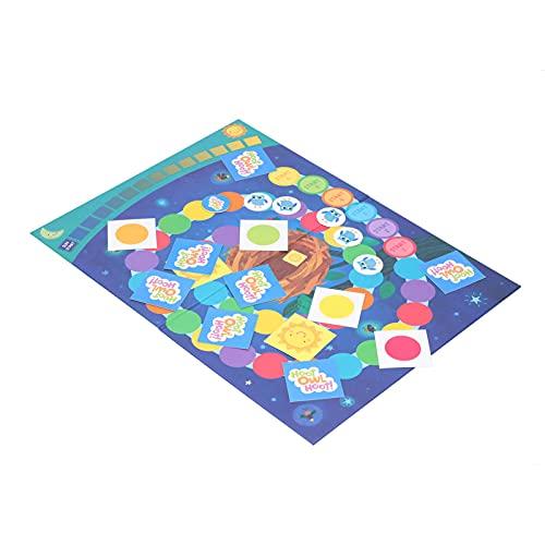 Surebuy Juego de Mesa, Juego de Tablero de ajedrez de Material de Papel de impresión de Cobre para la interacción Entre Padres e Hijos para niños de 4 a 8 años((Hoot Owl Hoot))