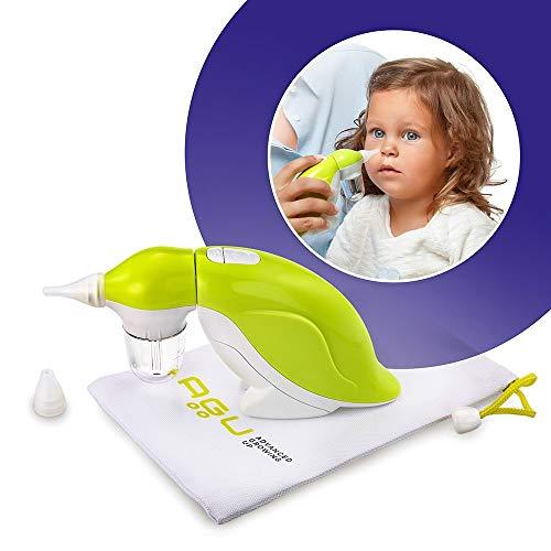 AGU PENGUIN Nasensauger Baby Nasensekretsauger - Nasal Aspirator mit Musik