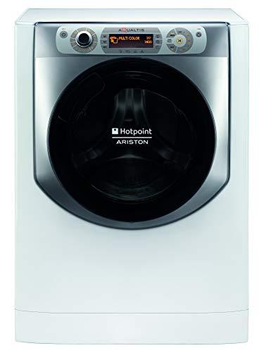 Hotpoint AQ104D497SD EU B N, Lavatrice a Carica Frontale a Libera Installazione,10kg, 1400 GIRI MIN, B