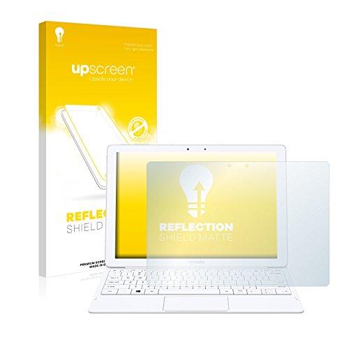upscreen Entspiegelungs-Schutzfolie kompatibel mit Samsung Galaxy Tab Pro S – Anti-Reflex Bildschirmschutz-Folie Matt