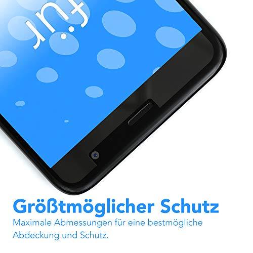EAZY CASE Silikonhülle & Panzerglas Set kompatibel mit Huawei Ascend Y530 I Displayschutzglas, Panzerglas 0,3 mm 9H Härte, Schutzhülle Ultra dünn, Silikon Hülle, Backcover, Transparent/Kristallklar - 4