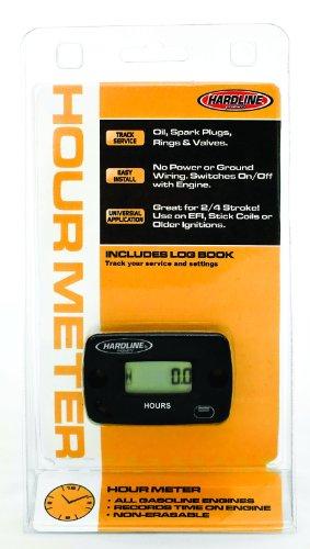 Hardline Products HR-8063-2 Hour Meter,Black