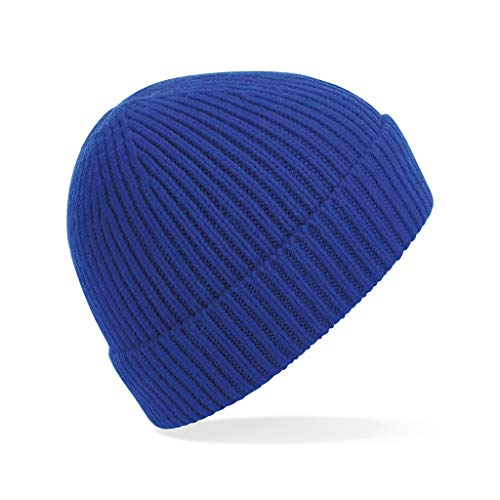 Beechfield - Gorro de punto Engineered (Tamaño Único) (Azul Real)