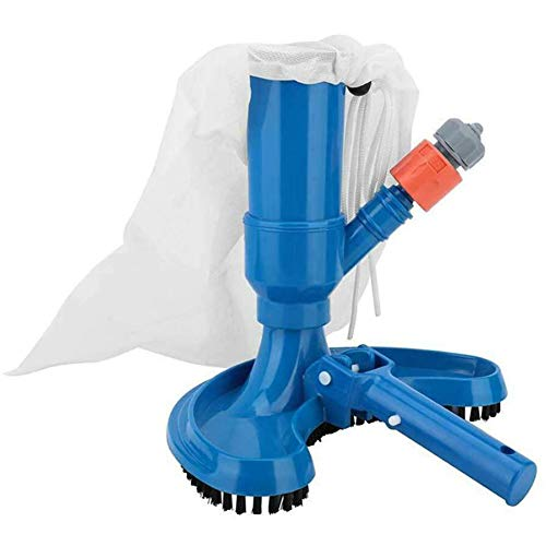 YZCH Swimming Pool Cleaning Brush,Durable Convenient Vacuum Brush Hose Connector Cleaning Set Swimming Pool SPA Underwater Cleaner Easy Install