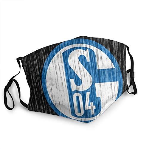 Custom made Logotipo del FC Schalke 04 máscara de la Cara Reutilizable, pañuelos, pañuelos, pañuelos, protección contra el Polvo, pasamontañas, Protector Facial, Bufanda Escudo para Pesca Ciclismo