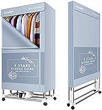 Clothes dryer Secadora de Ropa Plegable Montaje Armario de Ropa de Secado rápido Secadora hogar 2000W de Alta Potencia de...