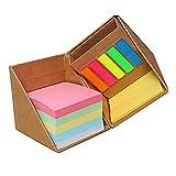 IWILCS 500PCS Notas adhesivas, libretas de colores Notas adhesivas Notas adhesivas Banderas Pestañas Índice Notas adhesivas Caja de regalo Se puede utilizar como portalápices