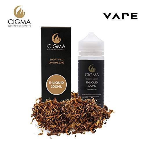 CIGMA Classic Tabaco 100ml E Liquido 0mg - Nuevas