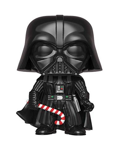 Funko Figure Pop Star Wars Holiday Darth Vader with Candy Cane, Multicolor