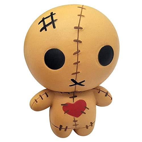 Muñeca de Halloween, muñeca de terror, aroma alivia la muñeca de los niños de elevación lenta