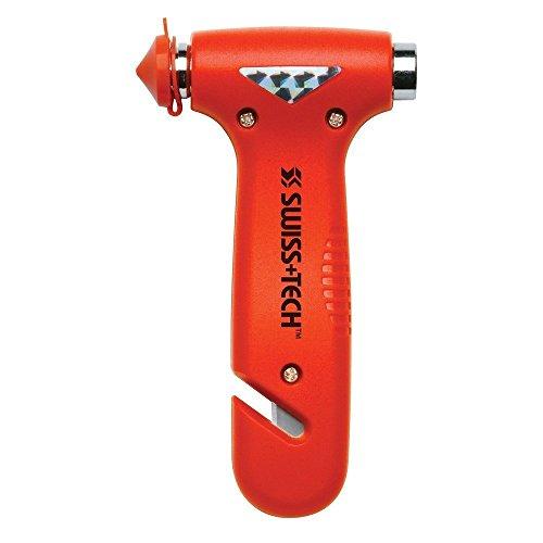Romote ST85100 Orange 3-in-1 Bodyguard Auto-Nothammer-Entweichen-Werkzeug mit Glasbrecher