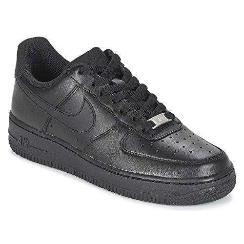 Nike Air Force 1 '07 W - Zapatillas deportivas para mujer, color negro, talla 40