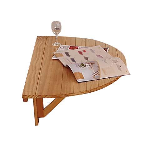 WEN HAO-wandklapptisch Halbkreisförmige Massivholz Klapptisch Speisetisch Wandtisch Wandbehang Tischkonsole Tabellen-Computer-Schreibtisch, Tisch, Schreibtisch