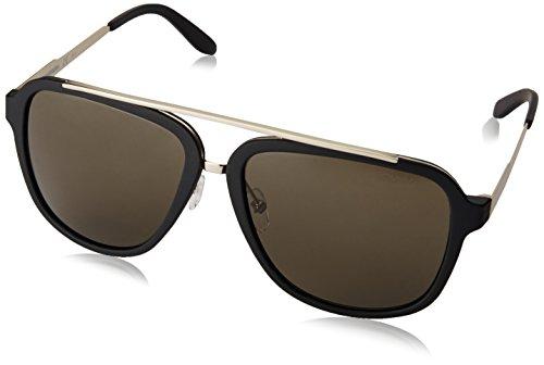 Carrera 97/S 70 TJK Gafas de sol, Negro (Black Gold/Brown), 57 Unisex-Adulto