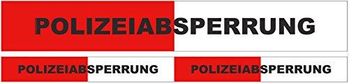 Party-Absperrband 'Polizei' 10 m