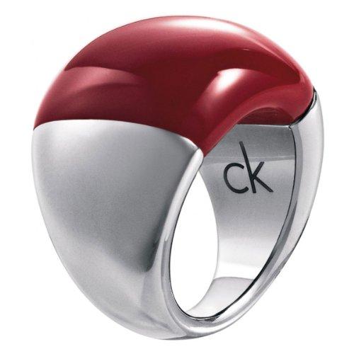 Calvin Klein - Anillo de Acero Inoxidable, Talla 15 (17,52 mm)