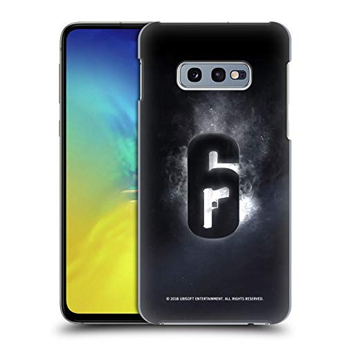 Head Case Designs Officially Licensed Tom Clancy's Rainbow Six Siege Glow Logos Hard Back Case Compatible with Samsung Galaxy S10e