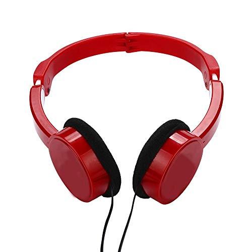 SFBBBO Auriculares Gaming Auriculares Profesionales con Cable para DJ con micrófono sobre...