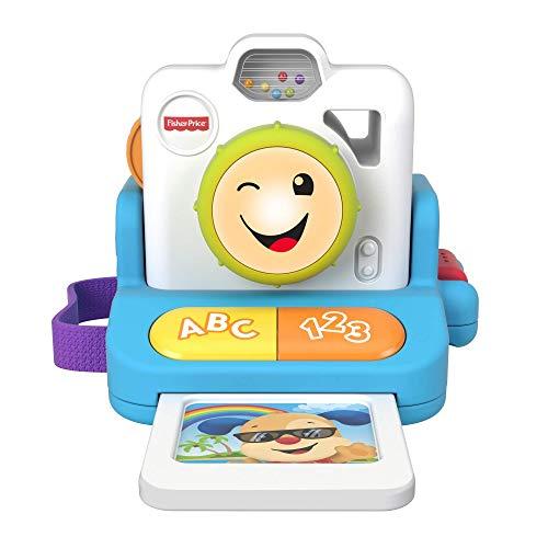 Fisher-Price- Polaroid Ridi e Impara Giocattolo Educativo per Bambini 6+ Mesi, GMX45
