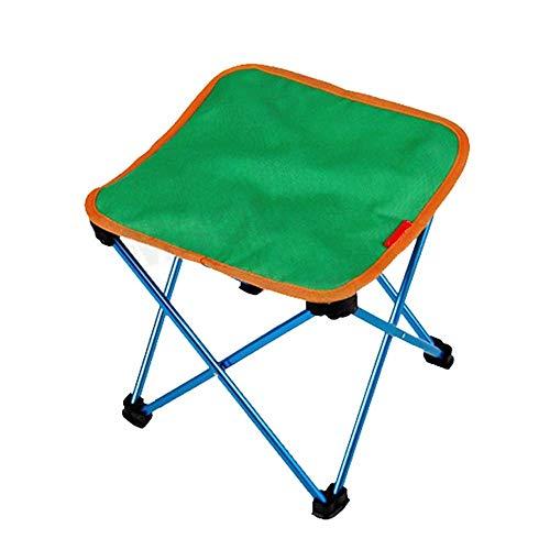 ZLININ Y-longhair - Taburete plegable para pesca o exterior, portátil, ultraligero, para camping, senderismo, autoconducción, 27 x 26 x 26 cm