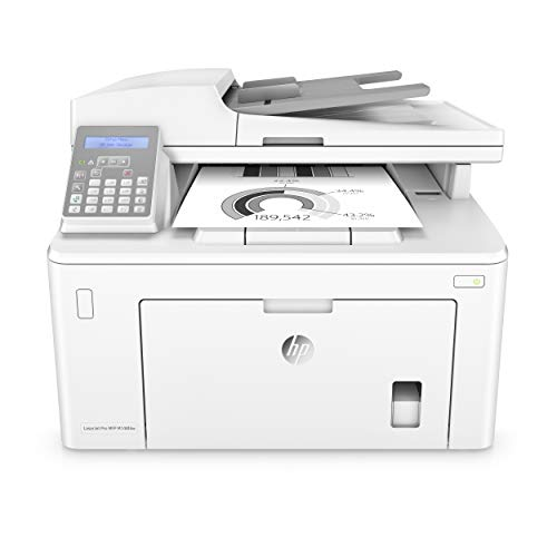 HP Laserjet Pro M148fdw All-in-One Wireless Monochrome Laser Printer, Fax, Mobile & Auto Two-Sided Printing, Works with Alexa (4PA42A)