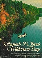 Wilderness Days 0394471555 Book Cover