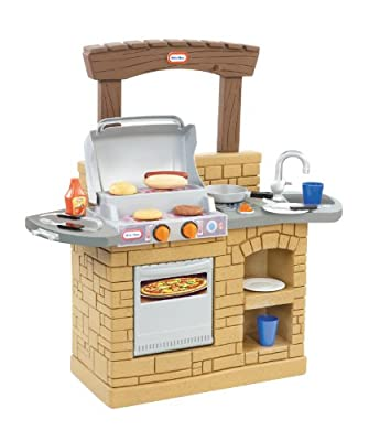 Little Tikes Cook 'n Play Outdoor BBQ , Brown from Little Tikes