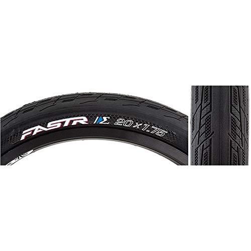 TIOGA BMX fastr S-Spec neumático para BMX Unisex, Negro