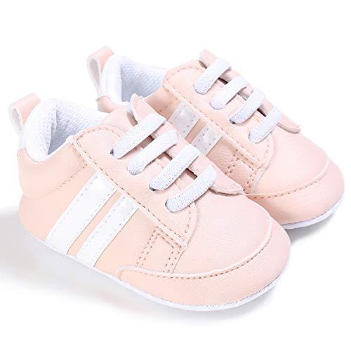Zapatos Bebe NiñO NiñA Rojo Zapatillas De Deporte De Moda Zapatillas De Deporte para BebéS ReciéN Nacidos Zapatillas Deportivas para NiñOs, NiñAs, BebéS, Cordones