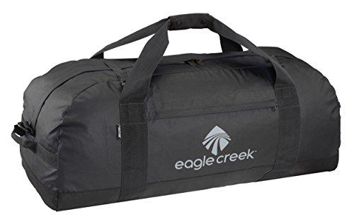 Eagle Creek Ultra Durable and Water-Resistant No Matter What Duffel XL Packable Travel Bag, Black Sac de Voyage, 91 cm, 133 liters, Noir (Black)