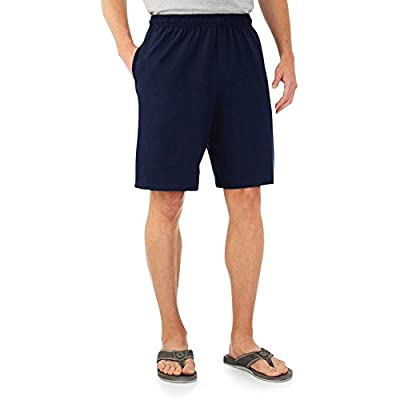 Fruit of the Loom Mens Jersey Short J.Navy L